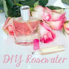 DIY rosewater. Use i