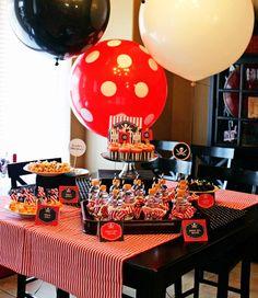 Pirate birthday theme...