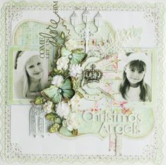 Christmas Angels - Two Peas in a Bucket