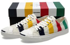 Converse First String x Hudson's Bay Company Jack Purcell LTT Ox Sneakers