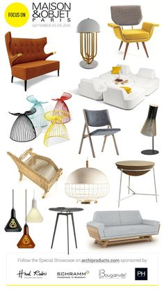 Focus on Maison&Object Paris - September 05-09, 2014 #design #paris @maisonobjet