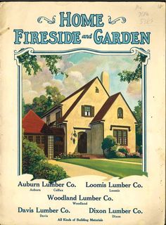 FREE DOWNLOAD  Radford's Home, Fireside and Garden 1926 book cover