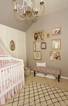 "Serena and Lily Paint - ""Mushroom"" really like this color with gold accents-"