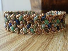 Free Tutorial - Pattern Tweak - Wescott Jewelry - SuperDuos and Seed Beads