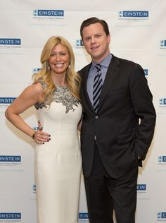 59th Annual Spirit Luncheon emcee Willie Geist, co-host of NBC's Today and MSNBC's Morning Joe, with special guest and past Spirit honoree Jill Martin, of NBC.