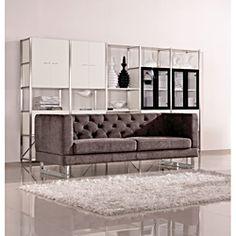 Dark Raisin Grey Allegro Sofa