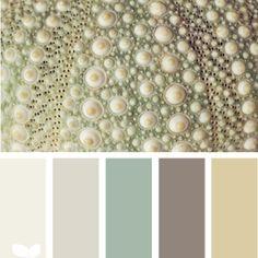 Calm color palette