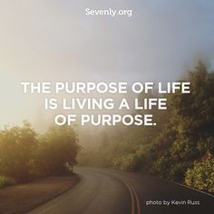 Re-Pin if you are living life with a purpose