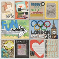"""""""Project Life - Week 31 - Right"""" by Heather, as seen in the Club CK Idea Galleries. #scrapbook #scrapbooking #creatingkeepsakes"""