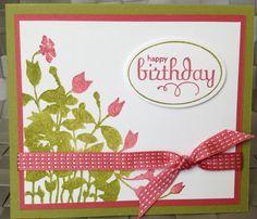 Stampin Up My Friend Stamp Set Birthday Card from www.stampingartstudio.com