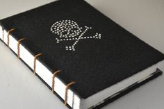 Skull and Crossbones Journal or Sketchbook  by SignalMountain