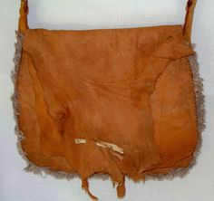 Primitive Antelope Leather Mountain Man Possibles Bag by misstudy