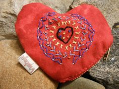 Valentine coin purse from Wapatanga.