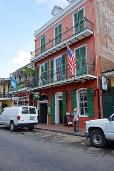 Pat O'Brien's ~ a must visit in New Orleans!