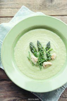 Zupa porowo-szparagowa - Przepis