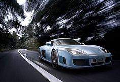 The Noble M600 is a hand-built British super car that goes from 0-60 in 3.7 seconds and has a top speed of 225 mph. It has a twin-turbocharged 4.4-liter V8 engine with up to 650 horsepower and the base prices is about $330,000.