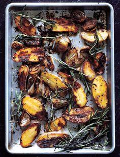 Balsamic Baked Fingerling Potatoes