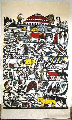 Japanese Art by the artist Sadao Watanabe | Scriptum Inc