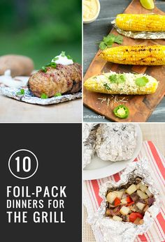 Perfect for camping or grilling! 10 Best Foil Packs
