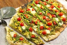 Summer Harvest Grilled Pizza Craving Something Healthy