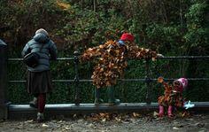 Leaf-folk in Edinburgh