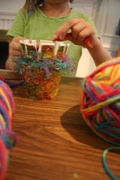 ReCycle Craft: Paper Cup Weaving!