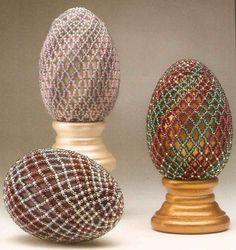 craft, eggs, egg multipletutori, egg bead, beading tutorials, seed bead, bead egg