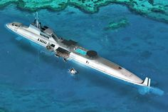 blue MIGALOO luxury submarine