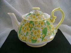 Vintage Royal Albert Primrose Chintz Coffee Pot   eBay