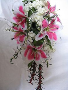 Lilly bouquet for weddings