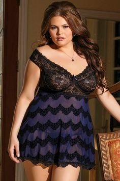 Sexy Lingerie Plus Size Babydoll
