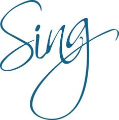Singing...