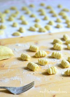 2 ingredient homemade gnocchi - need to eat the package in the freezer first. . .