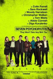Seven Psychopaths (2012) Poster
