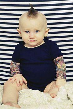 Tattoo sleeve onesie