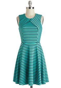 Ambient Turquoise Dress, #ModCloth