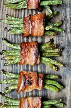 Green Bean Bacon Bun