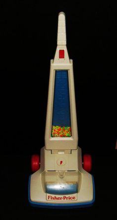 Fisher Price vacuum price vacuum, toy, fisher price, childhood memori, memori lane, 90s