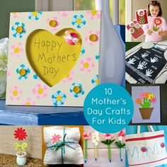 10 Cute Mother's Day crafts for kids