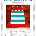 Celebrate a special birthday with a silly craft!  Your kiddos will create a cake and complete a writing prompt!    Here's what inside:  *Celebration C...