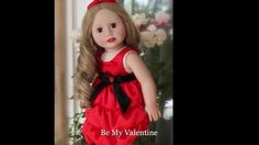 American Girl Valentine's Day Style by Harmony Club Dolls. www.harmonyclubdolls.com