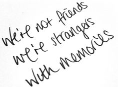 fake friends. real strangers.