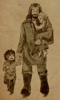 Thorin,KIli,Fili.