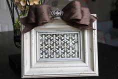 Rhinestone Crown. $36.00, via Etsy.