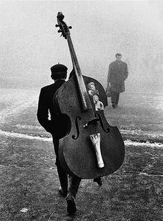 Tomislav Peternek - New Year's morning, Belgrade, Serbia, 1961