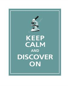 Keep Calm and LOVE SCIENCE Poster
