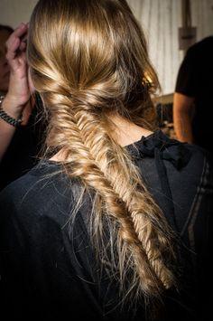 fishtail braids for days