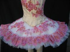 Pretty bodice and skirt.