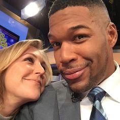 One of  Michael Strahan's many adoring fans.