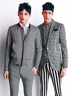 Photographed by Josh Olins and styled by Shun Watanabe - SS 2012 Vogue Hommes Japan.